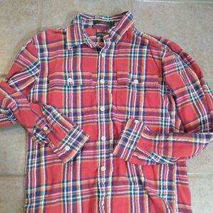 New men's flannel shirt size small